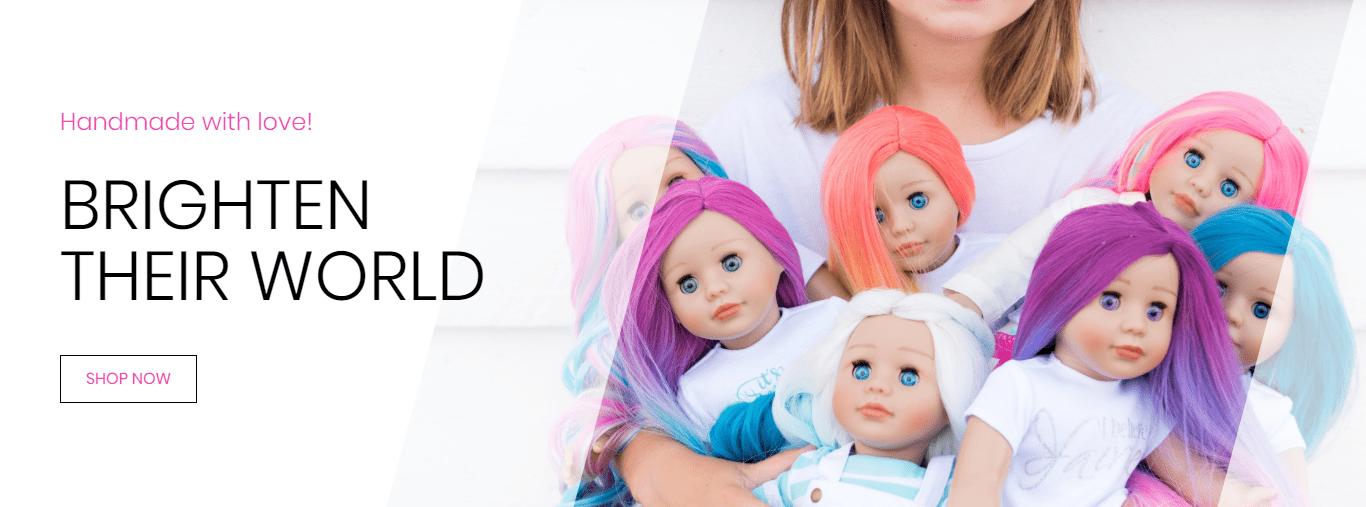 Homepage brighten their world forever dolls